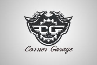 Corner Garage